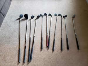 Left handed golf clubs. Willing to separate. for Sale in Silver Spring, PA