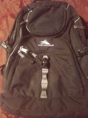 I have a high sierra backpack for Sale in Phoenix, AZ