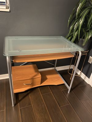 Glass top desk. If it's up it's available for Sale in Holiday, FL