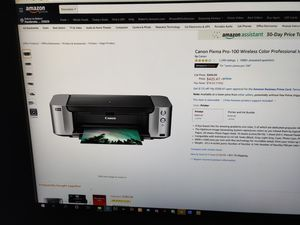 Canon Pixma Pro 100 photo printer for Sale in Miramar, FL