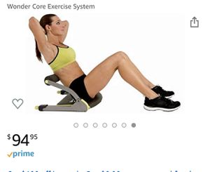 Wonder Core REVOLUTIONARY 6-IN-1 NEW AB SCULPTING SYSTEM! for Sale in Plantation, FL