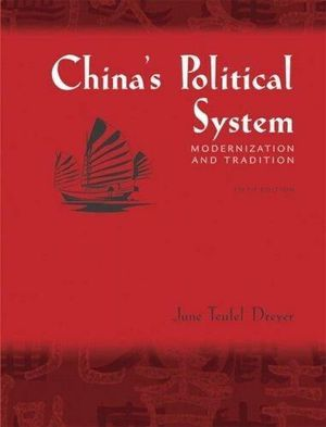 Book - China's Political System: Modernization and Tradition ( 5th Edition) for Sale in Chicago, IL