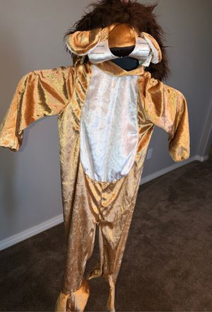 Size 2T-4T Halloween Lion Costume for Sale in Fontana, CA
