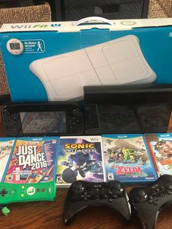 Nintendo Wii U Deluxe Set for Sale in Reston,  VA
