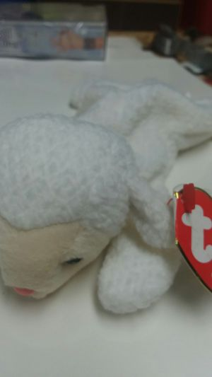 Ty Beanie Baby. Fleece 1996 with both tags. BOX pellets for Sale in Eau Claire, WI
