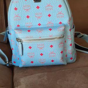 Light blue MCM backpack for Sale in Batesburg, SC