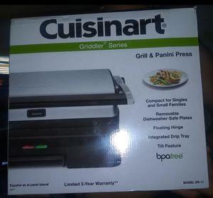 Cuisinart grill and panini press for Sale in Miami, FL