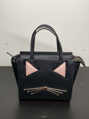 Kate spade new york winni leather cat crossbody bag for Sale in Silver Spring, MD