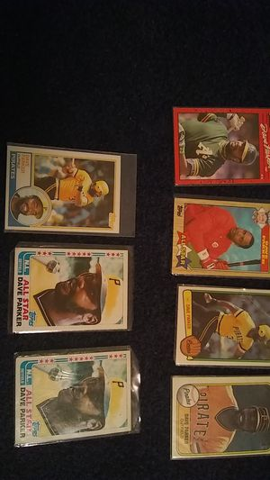 DAVE PARKER BASEBALL CARDS for Sale in Cleveland, OH