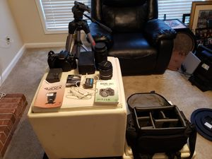 Canon EOS 20D Digital with All Original Accessories for Sale in Acworth, GA