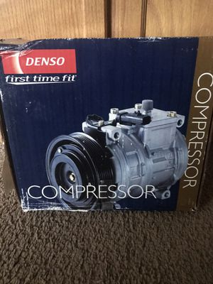 New Denso first time fit compressor see images for what it fits thanks for Sale in Wellford, SC