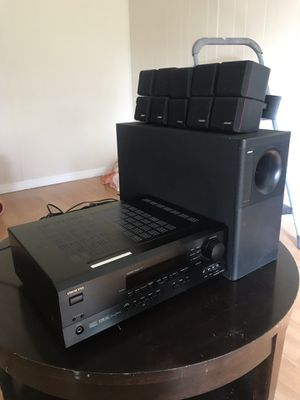 Bose system w/ onkyo receiver($250 OBO) for Sale in Fort Lauderdale, FL