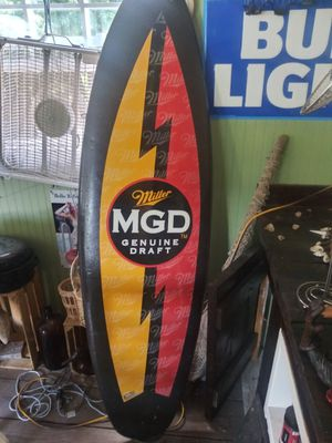 Advertisement surfboard for Sale in Lexington, NC