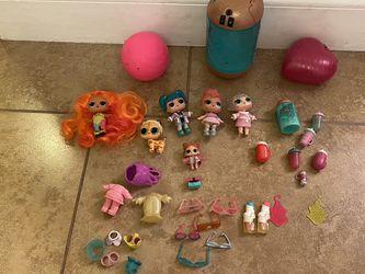 A Bundle Of LOL Dolls for Sale in Miami,  FL