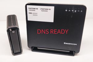 SB6121 + fast5260 AC router combo - DNS READY! for Sale in Stanton, CA