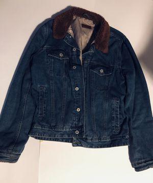 Asos Denim Jacket with Fleece Collar for Sale in Falls Church, VA