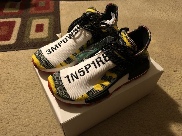 5f85af2fe human race nmd solar pack size 8  contact info removed  for Sale in ...