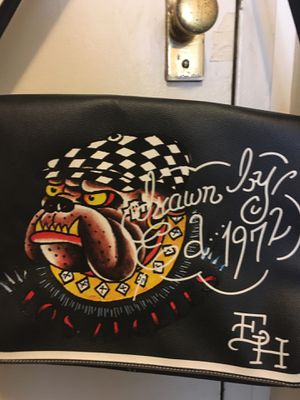 Ed Hardy Bulldog Messenger Bag for Sale in Chicago, IL
