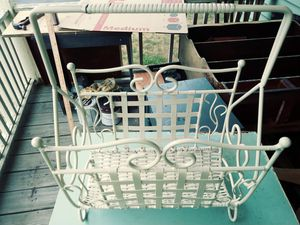Antique magazine holder. X Posted for Sale in Framingham, MA
