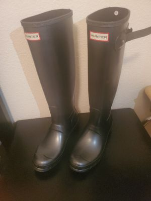 Hunter Rain Boots size 8 for Sale in Peoria, AZ