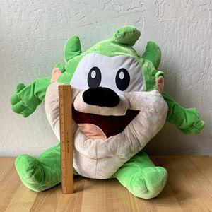 HUGE Plush Looney Tunes Tasmanian Devil Green Baby Taz Stuffed Animal Toy for Sale in Elizabethtown, PA