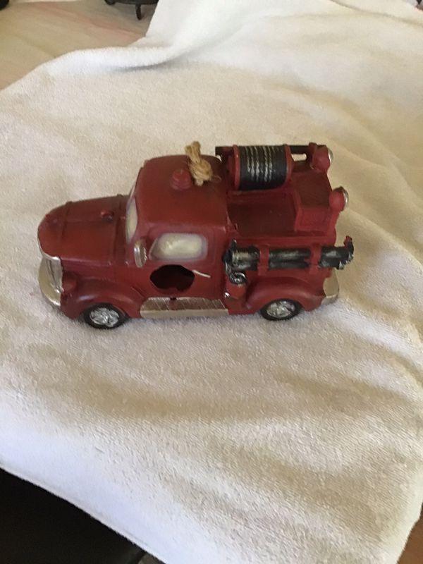 New bird feeder fire truck