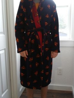 Superman Hooded Robes Men's Small Or Medium for Sale in Vancouver,  WA