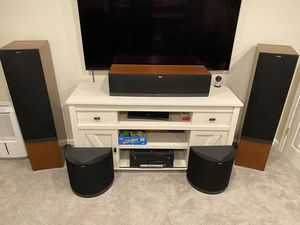 Klipsch Home Theater System - RF-7ii, RC-64ii, RS-62ii for Sale in Arlington, VA