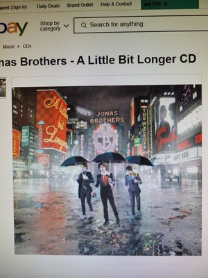 Jonas Brothers - A Little Bit Longer CD for Sale in Tigard, OR