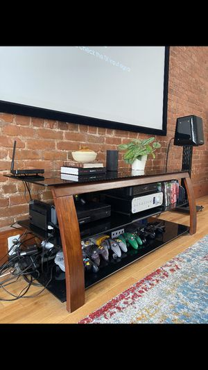 Reclaimed Wood Industrial TV Stand for Sale in Jersey City, NJ