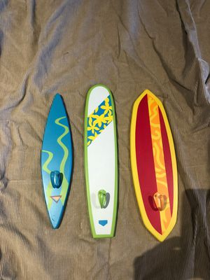 Pottery barn kids surfboard hooks for Sale in Indianapolis, IN