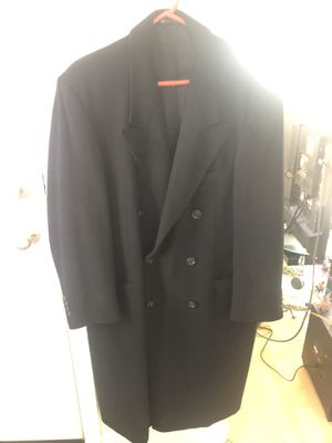 All cashmere full length men's clothes overcoat for Sale in Staten Island, NY