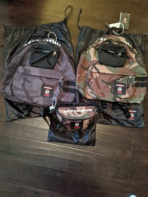 Bape/Aape Bathing ape backpack and waistbag for Sale in Sacramento, CA