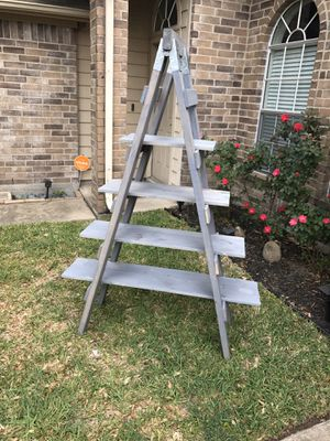 Ladder shelf for Sale in La Porte, TX