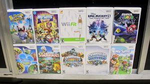 Nintendo Wii Game Bundle $4 - 14 Each for Sale in Sunrise, FL