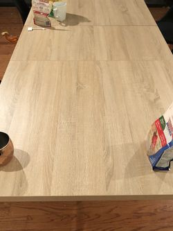 Beige Dining Table Great Condition!!! for Sale in Peabody,  MA