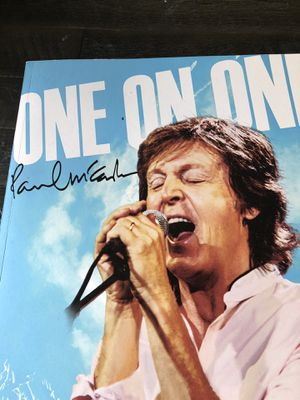 Paul McCartney - ONE ON ONE Tour Book 2016 - Incl. STICKERS & COLOURING PAGES Rare Beatles for Sale in Seattle, WA