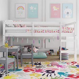 TWIN FRAME WHITE KIDS LOFT BED for Sale in Manassas, VA