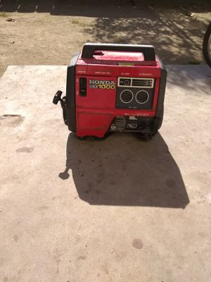Honda EX1000 Generator for Sale in Fresno, CA