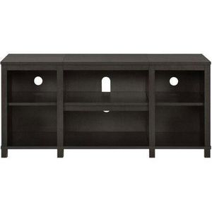 """Mainstays Parsons Cubby TV Stand for TVs up to 50"""", Espresso [Open-Box] [Item 2032] for Sale in Irving, TX"""
