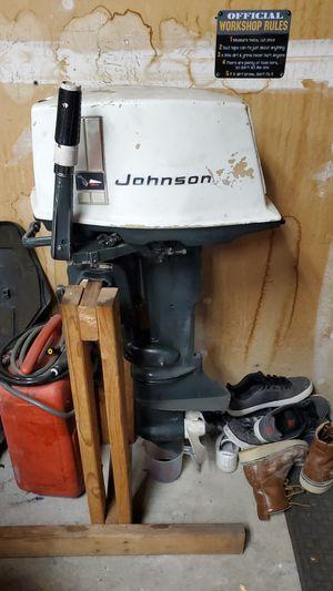 1969 Johnson 20hp boat motor for Sale in Aurora, CO