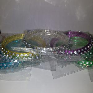 New Rhinestone bracelets for Sale in Huntington Park, CA