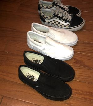 VANS SIZE 6Y (3 FOR $65) for Sale in Dallas, TX