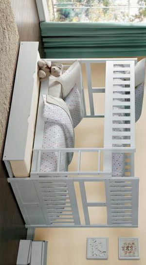 New/Galen White Full/Full Bunk Bed /SAME DAY DELIVERY for Sale in Houston, TX