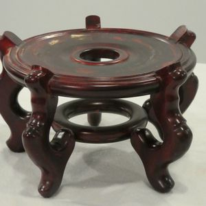 Oriental Rosewood Plant Stand Or Vase Stand for Sale in Baldwin, MD