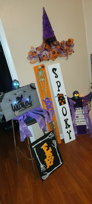 All Halloween Decor CLEARANCE for Sale in Tampa, FL