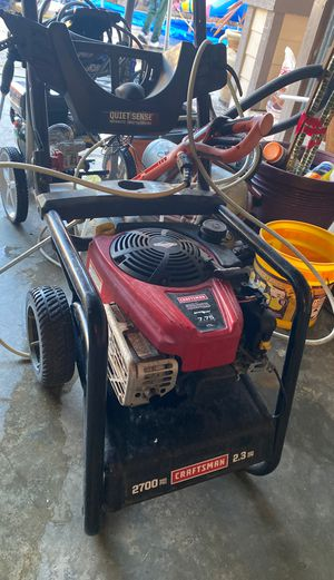 Pressure washer 2700 psi for Sale in Hayward, CA