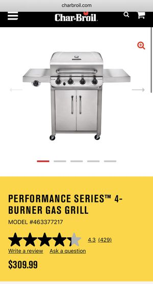 Char-broil performance gas grill for Sale in Stonington, CT