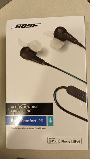 Brand New Bose Quiet Comfort 20 Retails $250 asking $200 obo for Sale in Littleton, CO