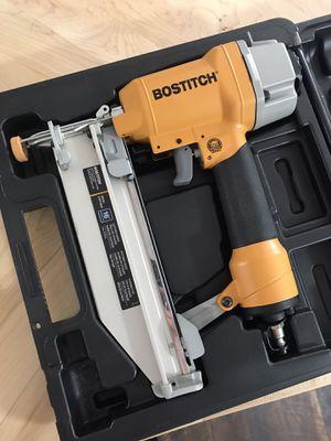 Bostich 16 gauge Straight Finish Nailer for Sale in Spokane, WA
